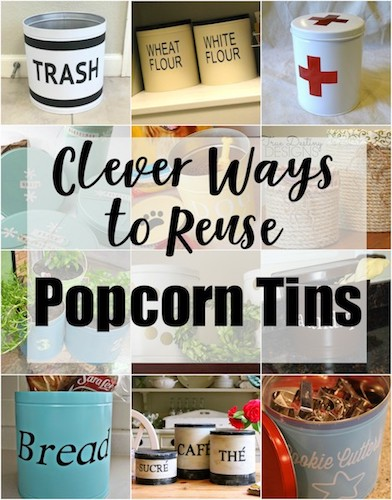 Popcorn Tin Upcycle