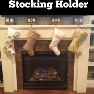 Monogram Stocking Holder