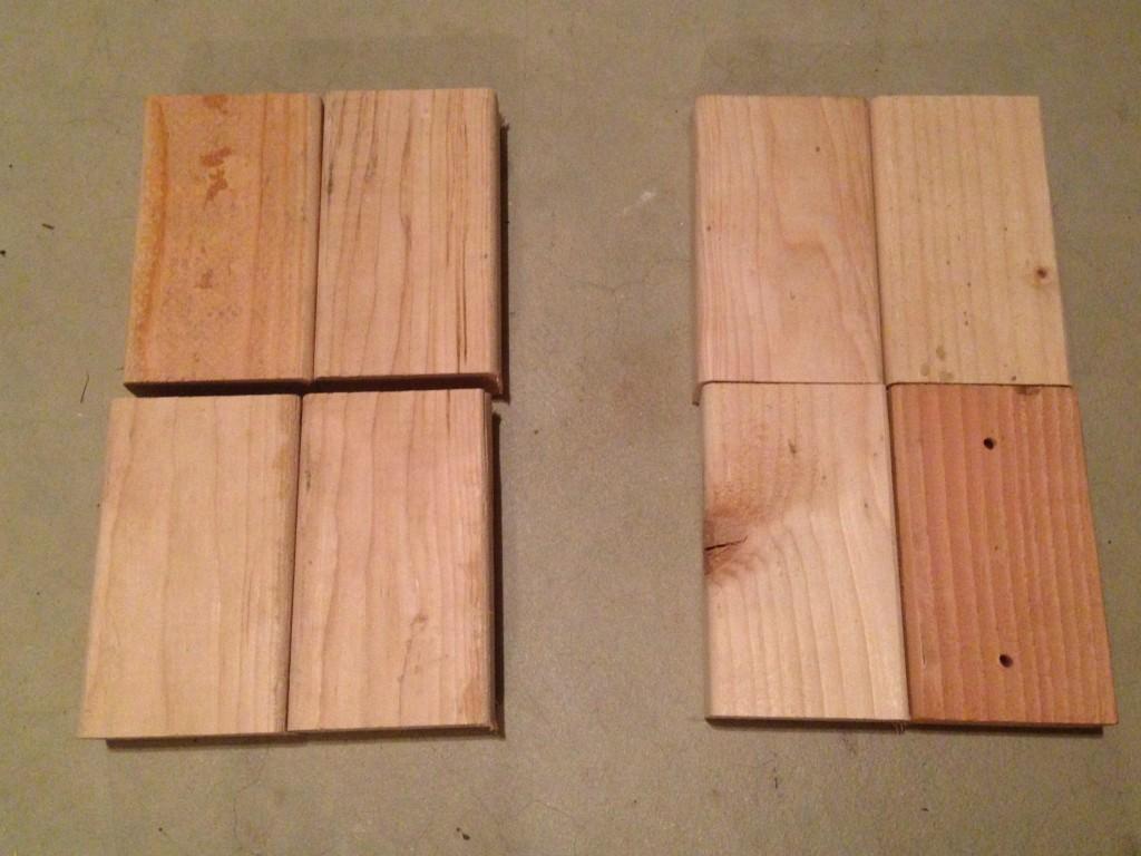 wood cuts
