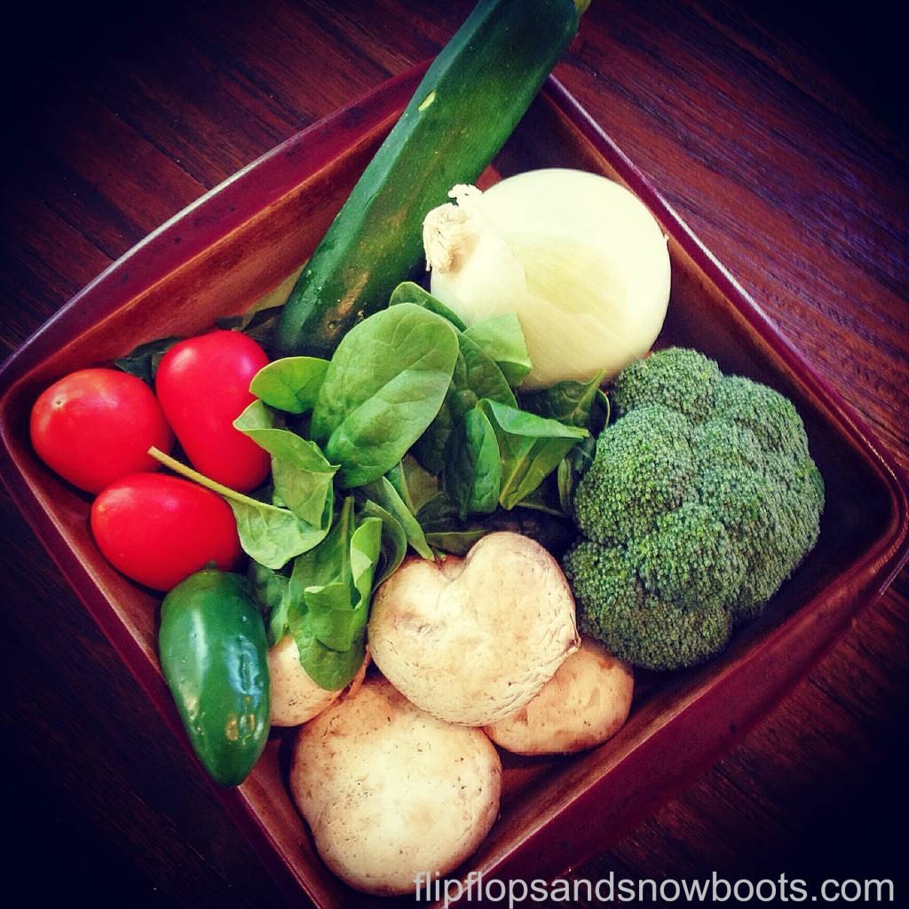 veggies with wm