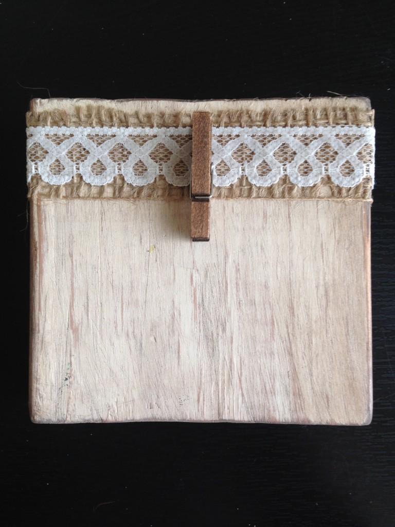 Wood Block Photo Stand Dream Design Diy