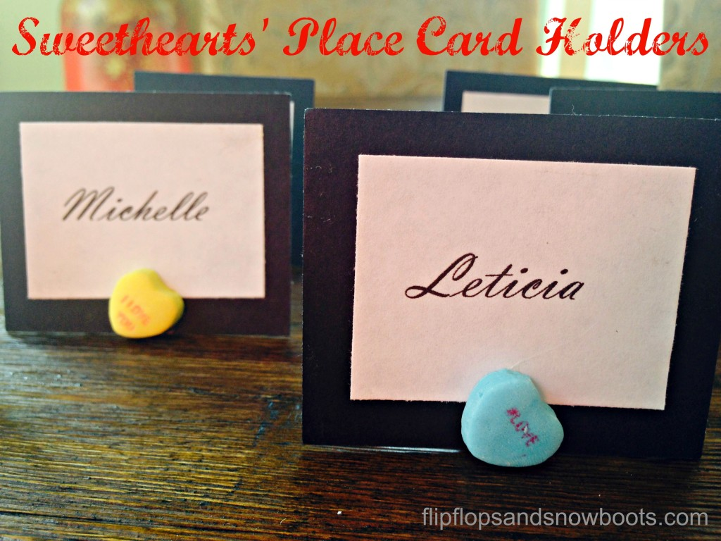 place card holders valentines