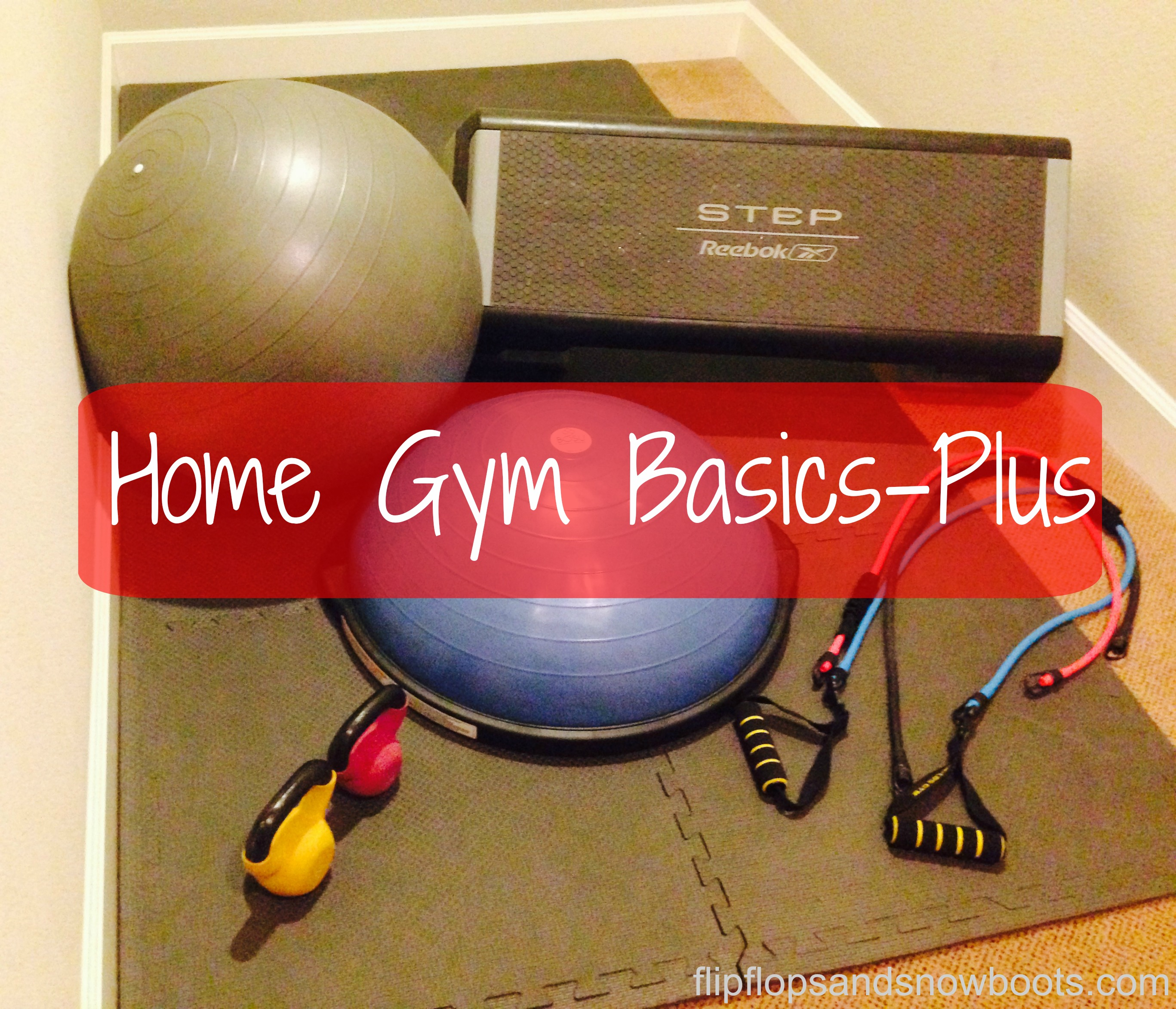 Home Gym Basics – Plus
