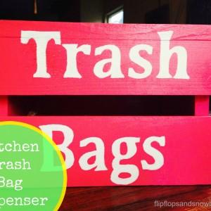 Kitchen Trash Bag Dispenser