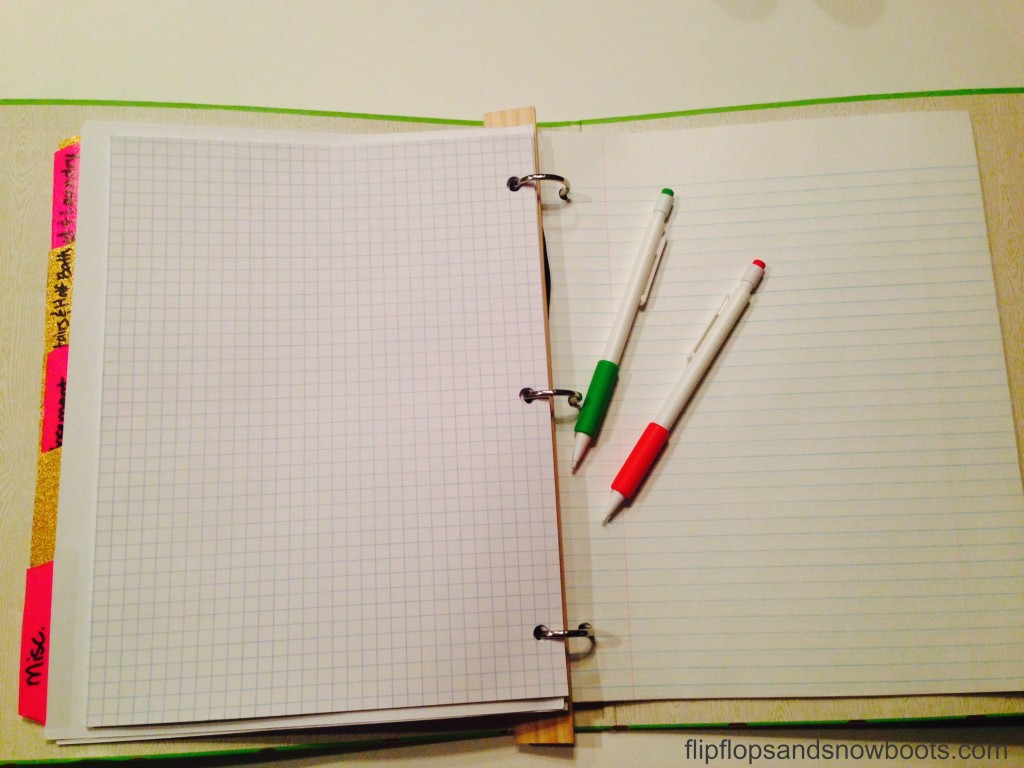 graph and lined paper wm