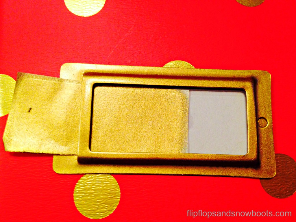 label holder gold wm