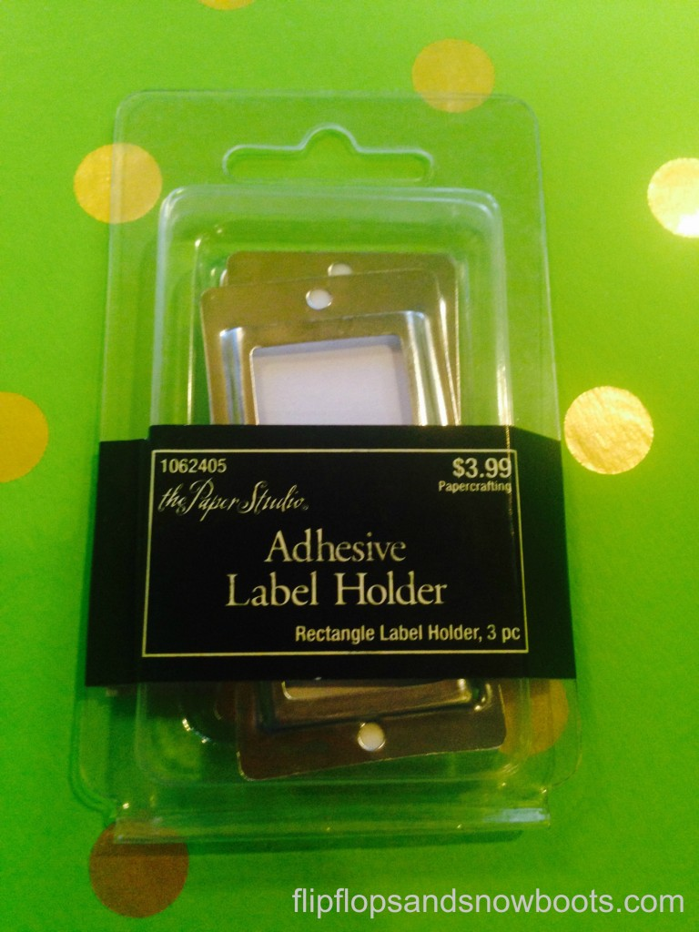 label holders wm