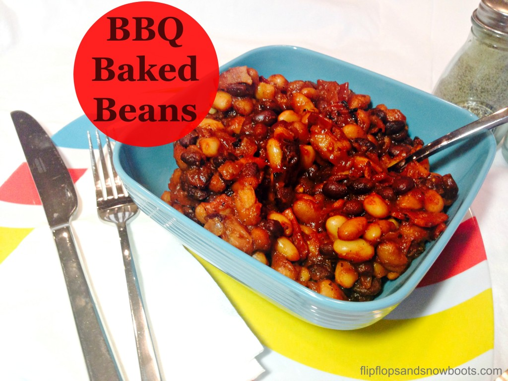 BBQ Baked Beans with title and wm