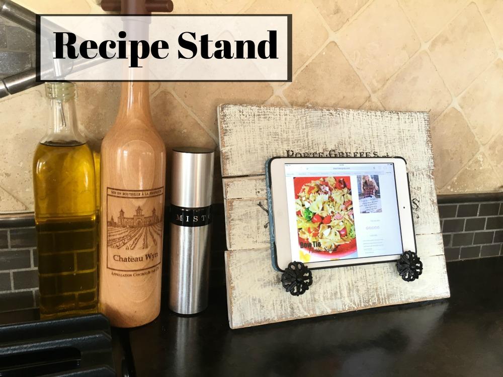 recipe stand