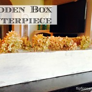 Wooden Box Centerpiece