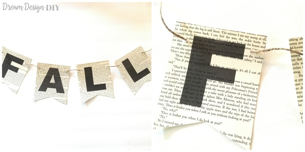 book pages fall banner