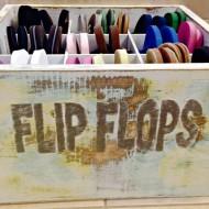 Flip Flop Bin