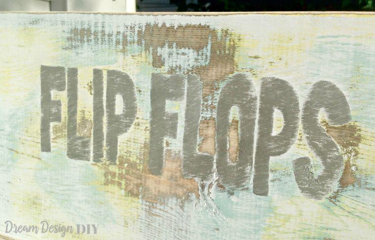 flip flops bin