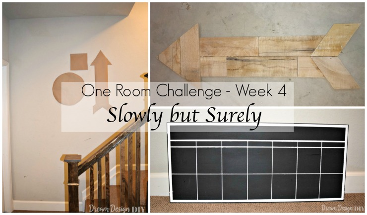 One Room Challenge – Week 4: Slowly but Surely