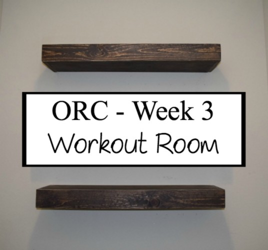 One Room Challenge – Week 3: Floating Shelves