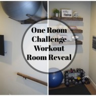 One Room Challenge – Reveal Week: Workout Room