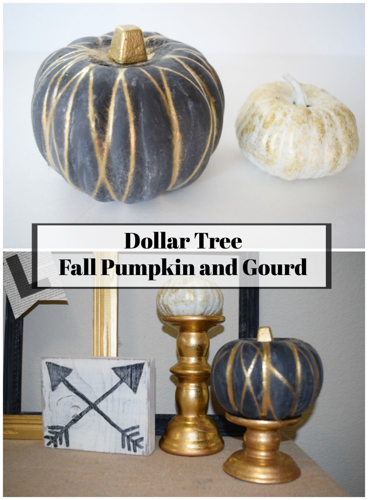 Dollar Tree Fall Pumpkin And Gourd Dream Design Diy