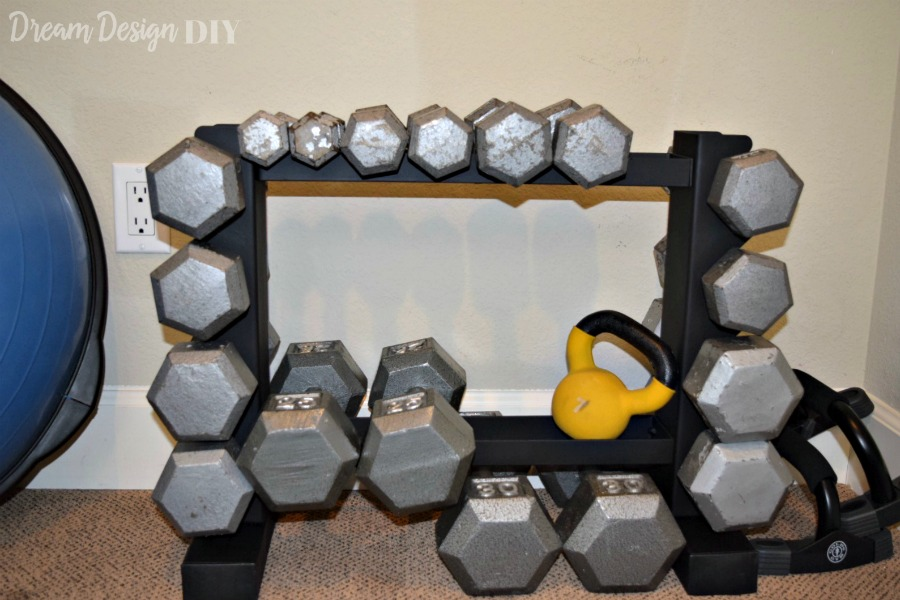 one room challenge workout room