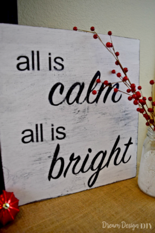 Christmas – Silent Night Sign