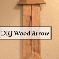 DIY Wood Arrow – Pallet Love