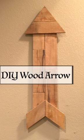 DIY Wood Arrow – Pallet Love