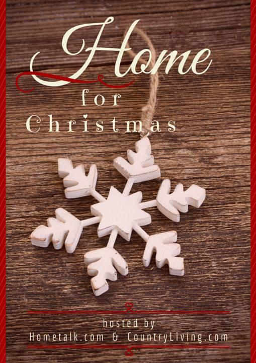 christmas hometalk and country living blog hop image