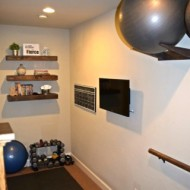 Workout Ball Holder – Home Gym Organization