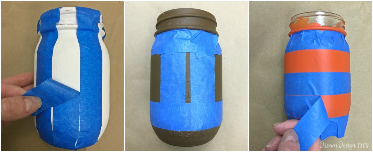 football mason jars
