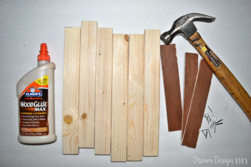heart DIY wood sign