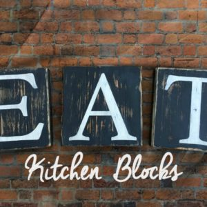 EAT Kitchen Wood Blocks