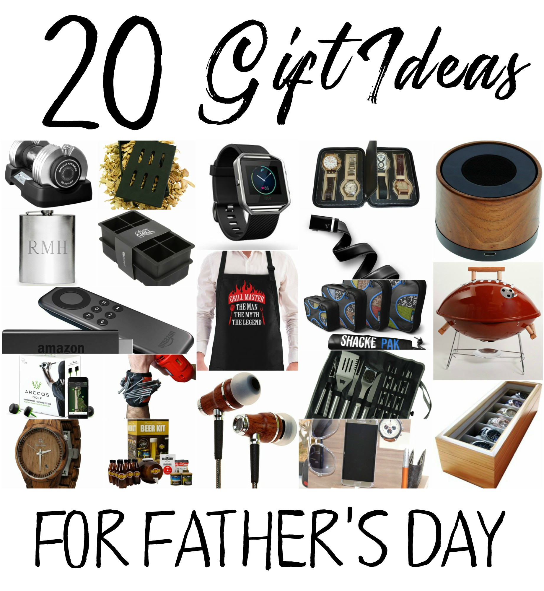 Don't know what to get dad/hubby for Father's Day? Don't stress it I have gathered up 20 gift ideas for the special man in your life.