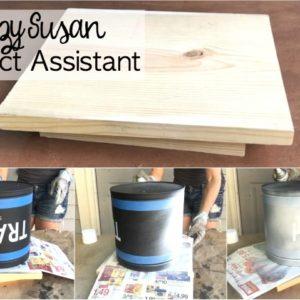 Scrap Wood Lazy Susan Project Assistant – The Lazy Painter
