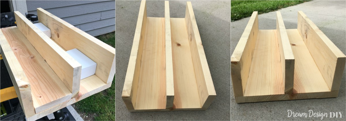 Keep all your BBQ tools and essentials together in this DIY BBQ Wood Caddy. Customize the size to fit your specific size BBQ needs. This BBQ caddy with help you perfect your outdoor culinary skills so you can preserve your title as the Grill Master. #BBQcaddy #grillcaddy #diy #woodworking
