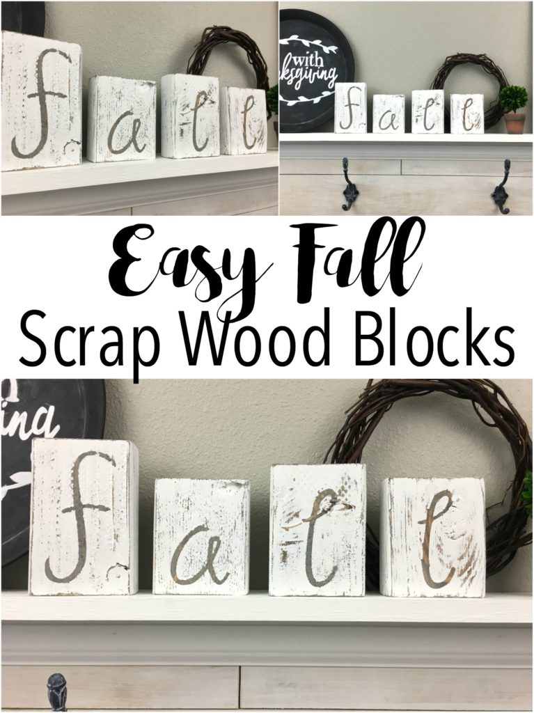 I love scrap wood projects! I have so much scrap wood and I am always looking for quick, cheap and easy ways to use it. Excited to make these and I love how I can paint the back side and use for Christmas.