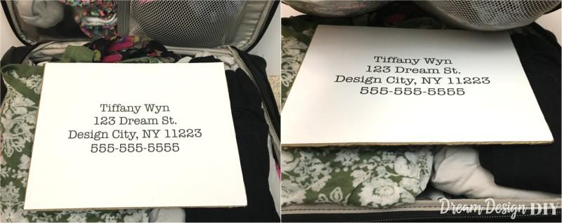 inferior luggage ID
