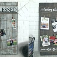 All Season and Christmas Photo Display