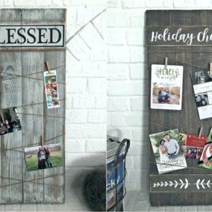 All Season and Christmas Photo Display