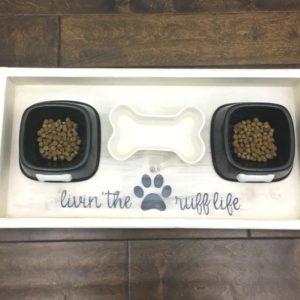 Dog Food Wood Tray – DIY