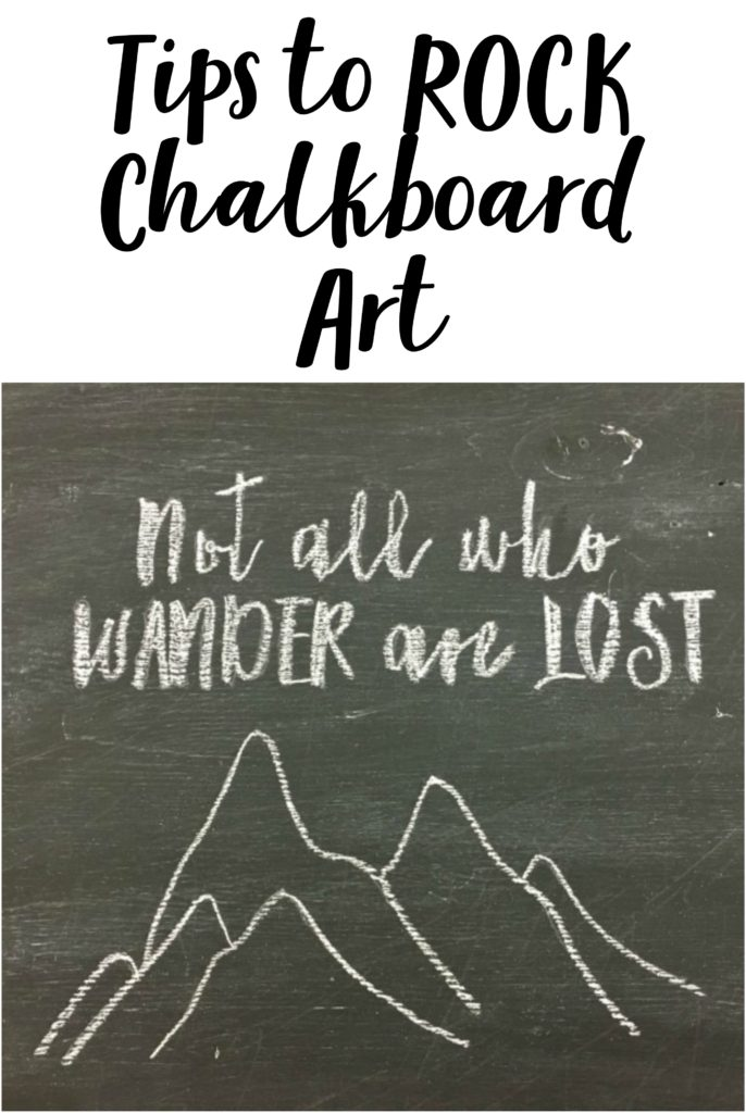 Easy tip to make AWESOME chalk art.