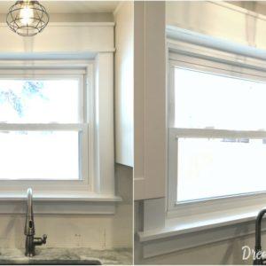 $10 Easy DIY Window Trim