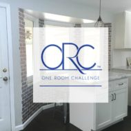 Industrial Farmhouse Kitchen Nook – One Room Challenge Week 4