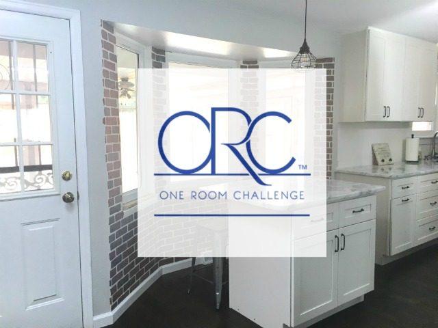 Industrial Farmhouse Kitchen Nook – One Room Challenge Week 4