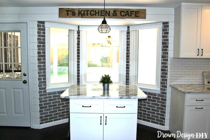 Industrial Farmhouse Kitchen Nook One Room Challenge Final Week