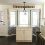 How to Shiplap a Bay Window