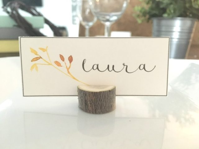 How to Make Tree Branch Card Holders