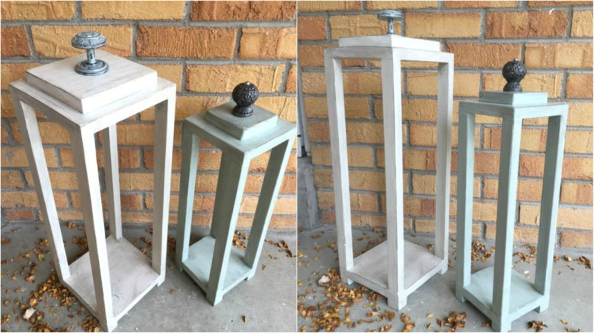 DIY Wood Lanterns Made From Scrap Wood