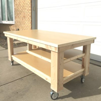How to Build the Ultimate DIY Garage Workbench – FREE Plans
