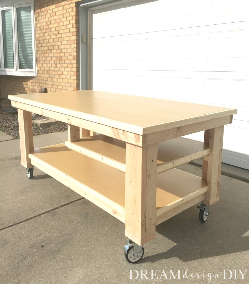 How to Build the Ultimate DIY Garage Workbench FREE Plans – Plans For Building A Workbench In A Garage