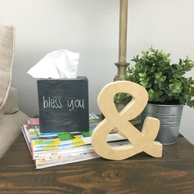 How to Make a Wood Tissue Box Cover