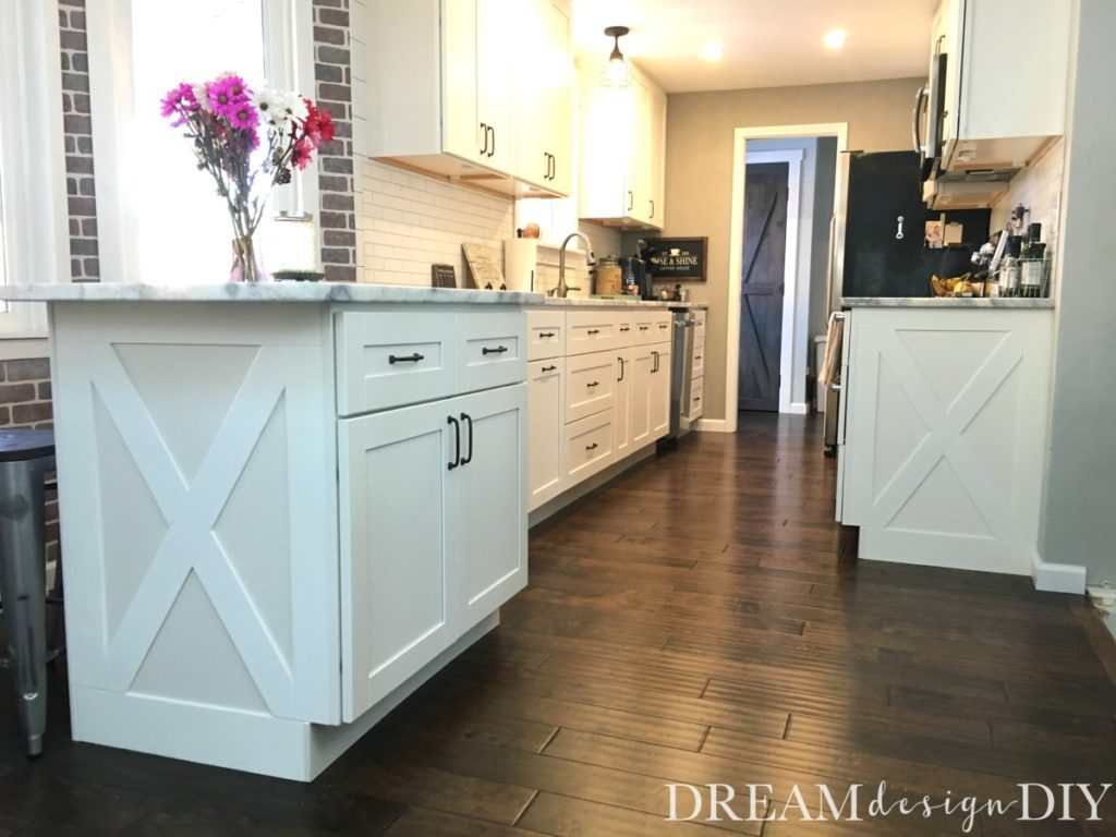 Adding character to your kitchen - Farmhouse Cabinet Trim